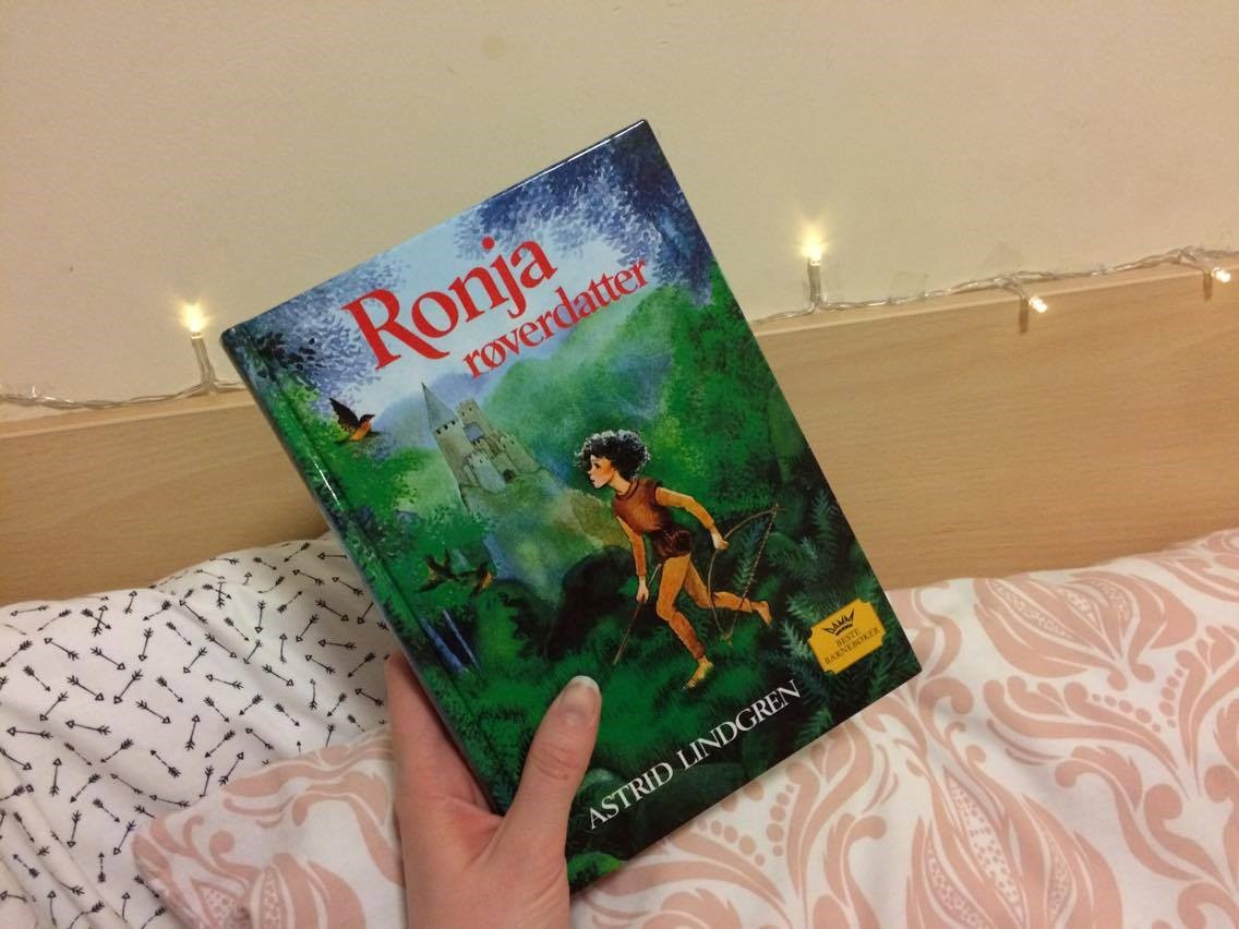 Ronia, the Robber's Daughter - Astrid Lindgren book cover